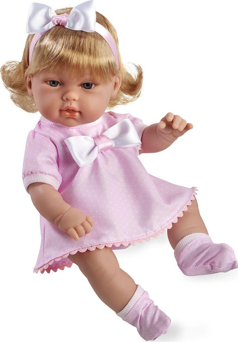 Arias Кукла Блондинка цвет платья розовый 33 см arias пупс цвет платья белый розовый 42 см т59289