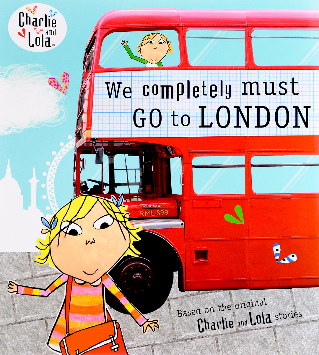 Charlie and Lola: We Completely Must Go to London charlie and lola snow is my favourite and my best