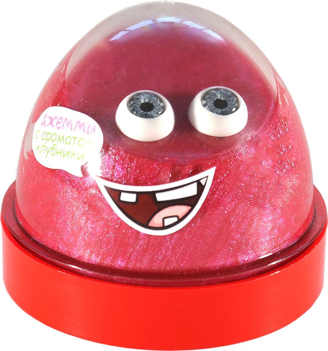 Nnano Gum Жвачка для рук-антистресс Джемми с ароматом клубники 50 гр nano gum зеленое яблоко 25 гр с ароматом яблока