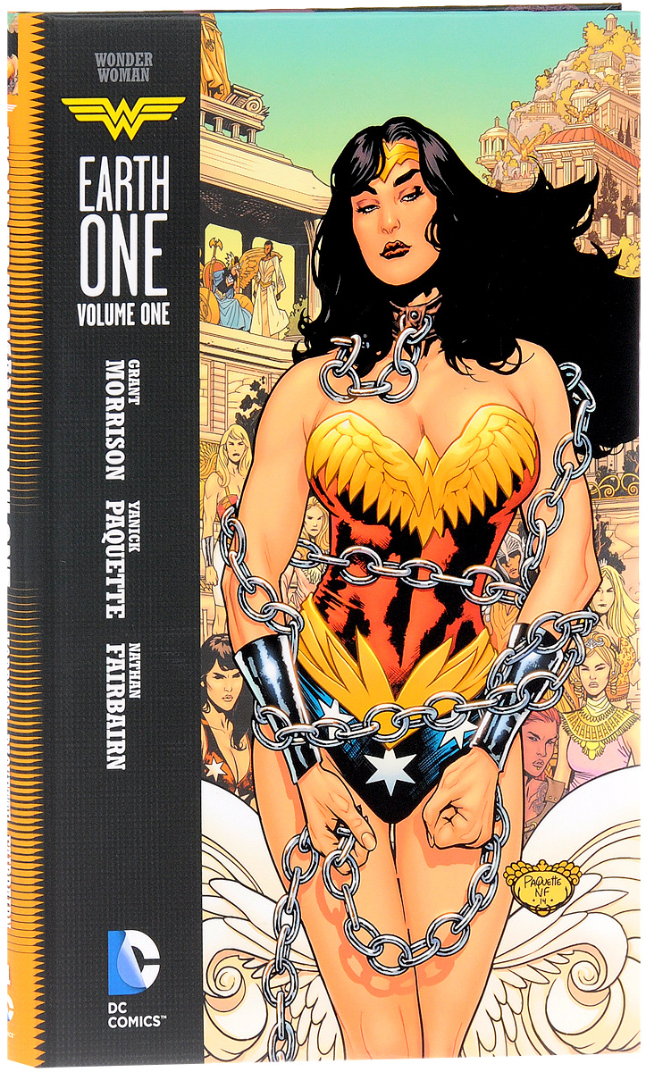 Wonder Woman: Earth One: Volume 1 verne j journey to the centre of the earth