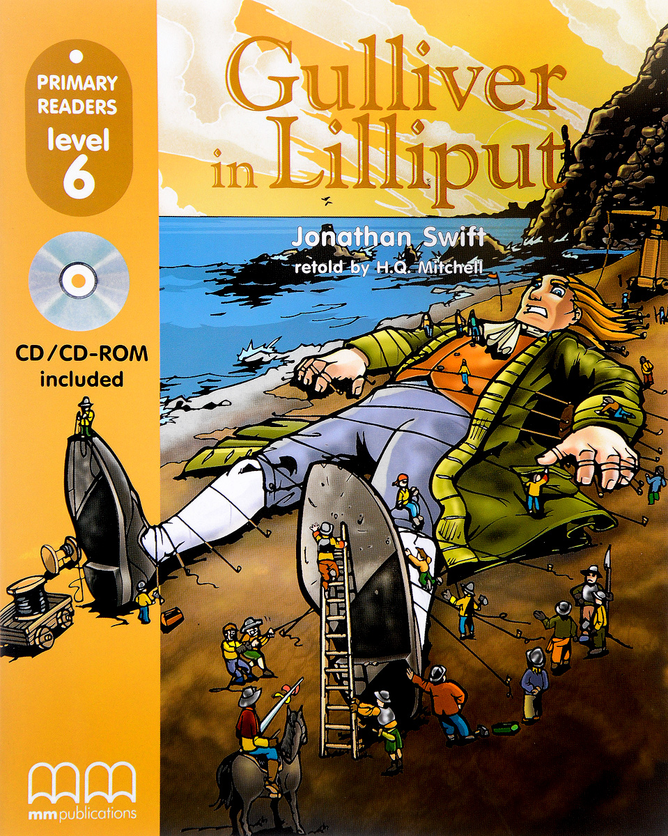 Gulliver in Lilliput: Level 6 (+ CD-ROM) blue fins starter level cd rom