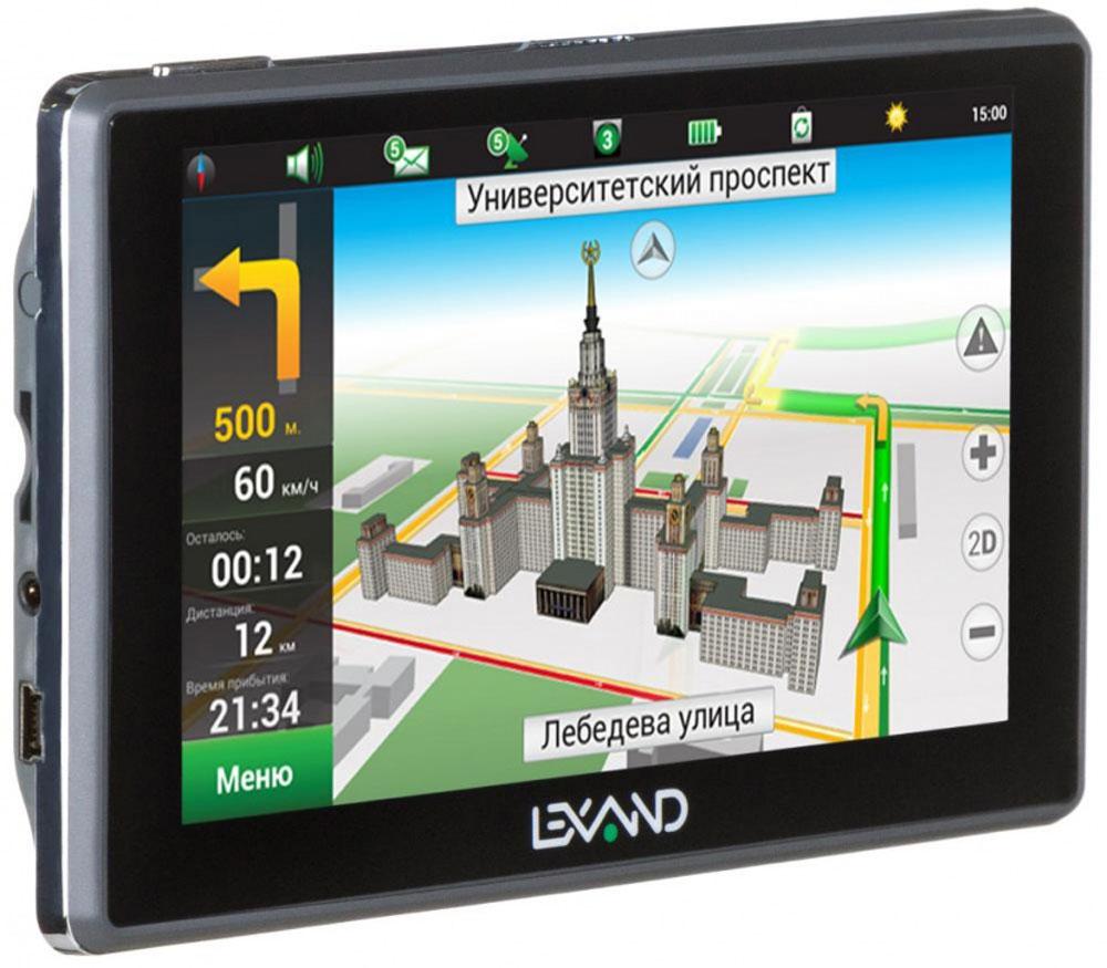 Lexand SA5 HD, Grey навигатор