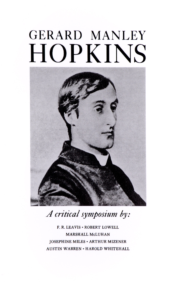 Gerard Manley Hopkins: A Critical Symposium