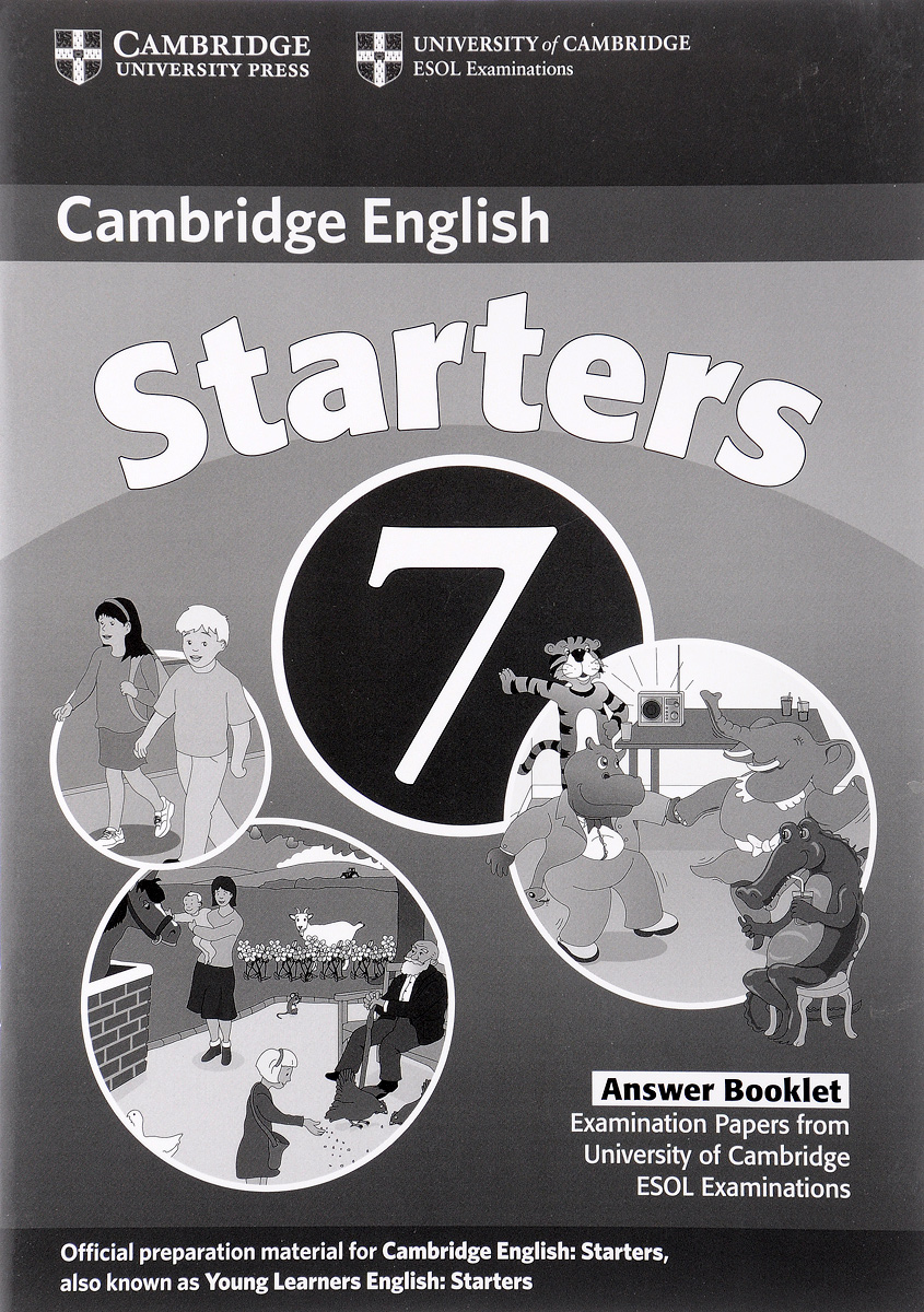 Cambridge Starters 7: Answer Booklet cambridge english empower advanced student s book c1