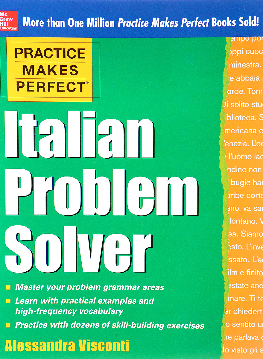 PRACTICE MAKES PERFECT ITALIAN PROBLEM SOLVER practice makes perfect linear algebra