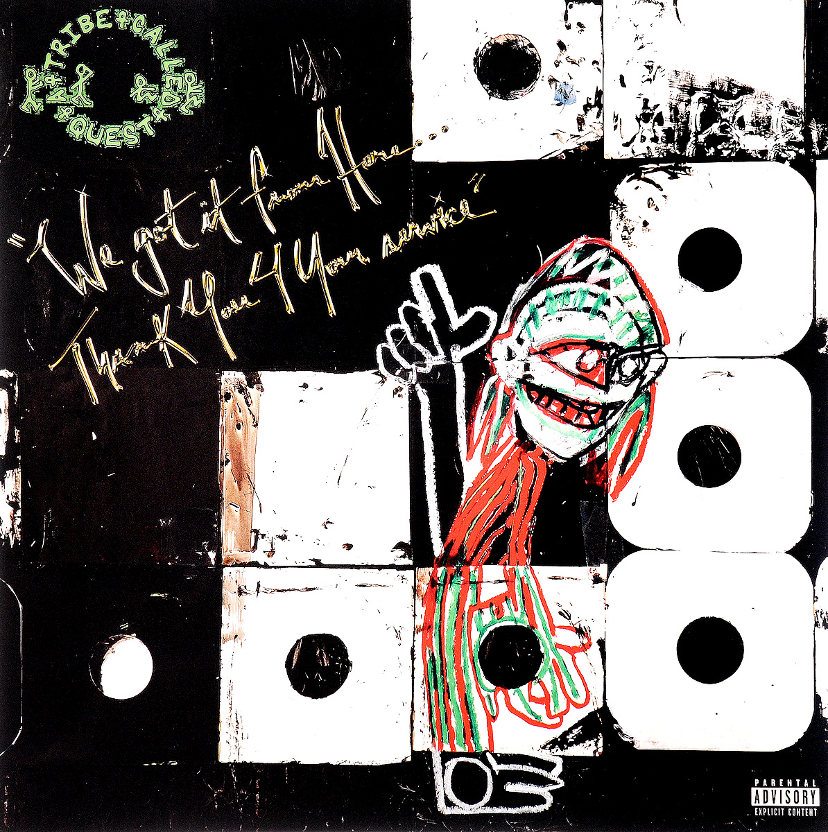 A Tribe Called Quest A Tribe Called Quest. We Got It From Here... Thank You 4 Your Service (2 LP)