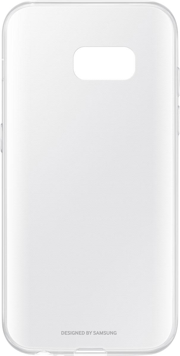Samsung EF-QA320 ClearCover чехол для Galaxy A3 (2017), ClearEF-QA320TTEGRUЧехол Samsung ClearCover подходит для модели смартфона Galaxy A3 (2017). Аксессуар плотно прилегает к корпусу устройства и защищает от механических повреждений и пыли. Прозрачная поверхность чехла сохраняет оригинальный внешний вид Galaxy A3 (2017). Чехол сделан из прочного поликарбоната, легко надевается и снимается. При использовании чехла в паре со смартфоном все функциональные порты и клавиши остаются доступными.