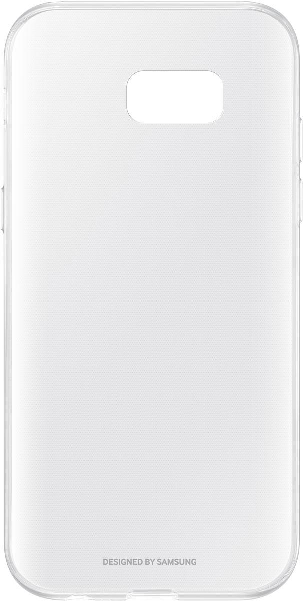 Samsung EF-QA720 ClearCover чехол для Galaxy A7 (2017), ClearEF-QA720TTEGRUЧехол Samsung ClearCover подходит для модели смартфона Galaxy A7 (2017). Оригинальный аксессуар плотно прилегает к корпусу устройства и защищает от механических повреждений и пыли. Прозрачная поверхность чехла сохраняет оригинальный внешний вид Galaxy A7 (2017). Чехол сделан из прочного поликарбоната, легко надевается и снимается. При использовании чехла в паре со смартфоном все функциональные порты и клавиши остаются доступными.