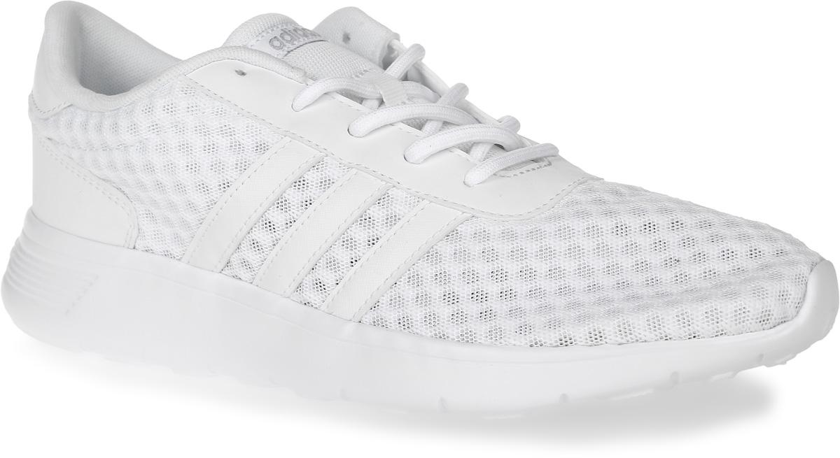 Кроссовки женские adidas Neo Lite Racer W, цвет: белый. AW3837. Размер 5,5 (37,5)AW3837Кроссовки adidas Neo Lite Racer W, выполненные из текстиля и искусственной кожи, оформлены фирменными нашивками. Шнурки надежно зафиксируют модель на ноге. Внутренняя поверхность из мягкого текстиля комфортна при движении. Стелька выполнена из легкого ЭВА-материала с поверхностью из текстиля. Подошва изготовлена из ЭВА-материала и дополнена рельефным рисунком.
