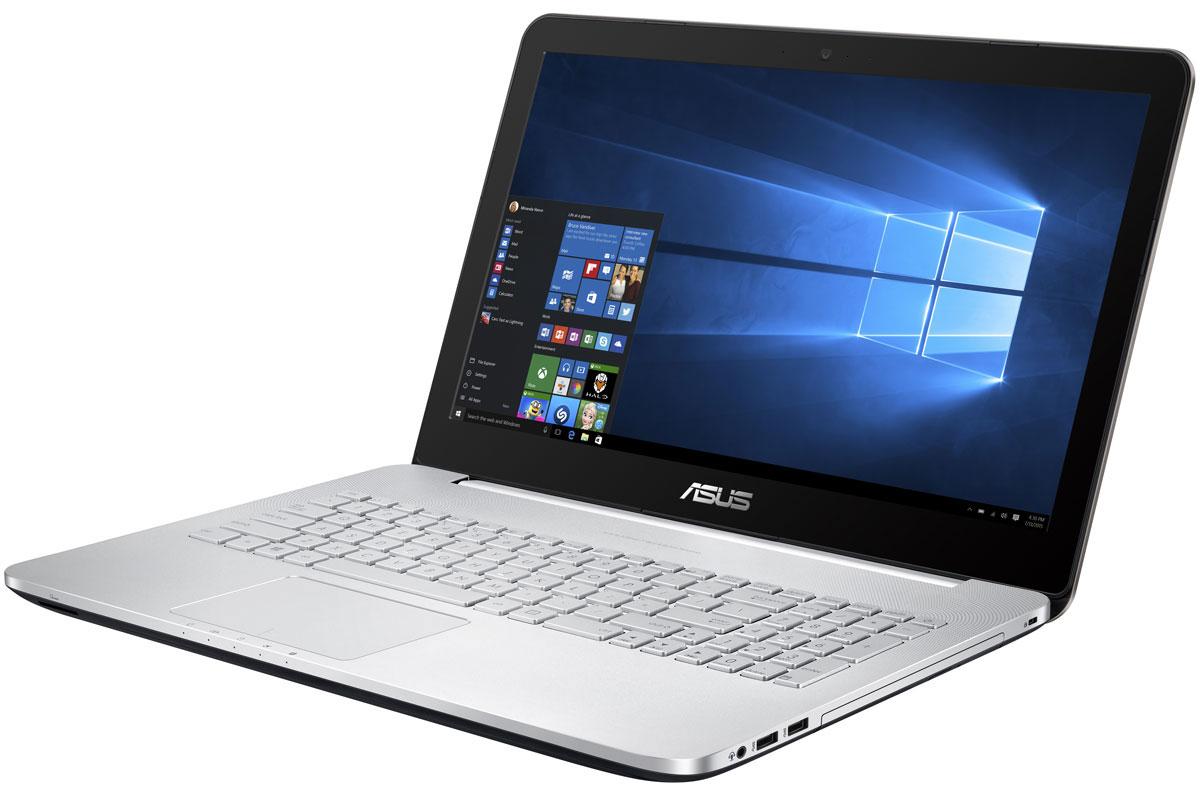 ASUS VivoBook Pro N552VX (N552VX-FW168T)N552VX-FW168TAsus VivoBook Pro N552VX обладает мощной конфигурацией, в которую входят самые современные программные и аппаратные компоненты: четырехъядерный процессор Intel Core i7 шестого поколения, видеокарта NVIDIA GeForce GTX 950M, оперативная память объемом 8 ГБ и операционная система Windows 10.За высокую скорость работы различных приложений на ноутбуке VivoBook Pro N552VX отвечает четырехъядерный процессор Intel Core i7-6700HQ, дополненный 8 гигабайтами оперативной памяти стандарта DDR4. Современные ноутбуки серии N подходят для любых, даже самых ресурсоемких, приложений.Просмотр фильмов, редактирование изображений и видеороликов, новейшие компьютерные игры - ноутбук способен справиться с любыми задачами, связанными с графикой, ведь в его конфигурацию входит мощная дискретная видеокарта NVIDIA GeForce GTX 950M.Дисплей данного ноутбука может похвастать расширенным цветовым охватом. Он способен отображать 72% оттенков цветового пространства NTSC, 100% оттенков пространства sRGB и 74% оттенков пространства AdobeRGB. Иными словами, изображение на его экране будет отличаться более точной цветопередачей по сравнению с тем, на что способны обычные ноутбучные дисплеи.Превосходный звук нового ноутбука Asus обеспечивает технология SonicMaster, разработанная совместно со специалистами фирмы ICEpower. Она представляет собой комплекс аппаратных и программных средств, выдающих беспрецедентное для мобильных компьютеров качество звучания.В число интерфейсов, реализованных в ноутбуке, входят разъемы USB 3.0, USB 3.1 Type-C, порты HDMI и mini-DisplayPort, а также слот для карт памяти SDXC/SDHC/SD. Представленный обратимым разъемом Type-C, интерфейс USB 3.1 обладает в два раза большей пропускной способностью по сравнению с USB 3.0 и почти в 20 раз - по сравнению с USB 2.0.VivoBook Pro N552VX обладает высокочувствительным тачпадом с поддержкой многопальцевых жестов, за корректное распознавание которых отвечает технология Smart Gesture. Кро