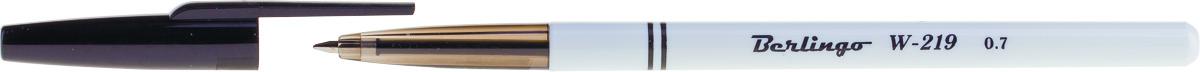 Berlingo Набор шариковых ручек W-219 цвет чернил черный 50 шт канцелярия berlingo набор шариковых ручек 10 цветов 10 шт