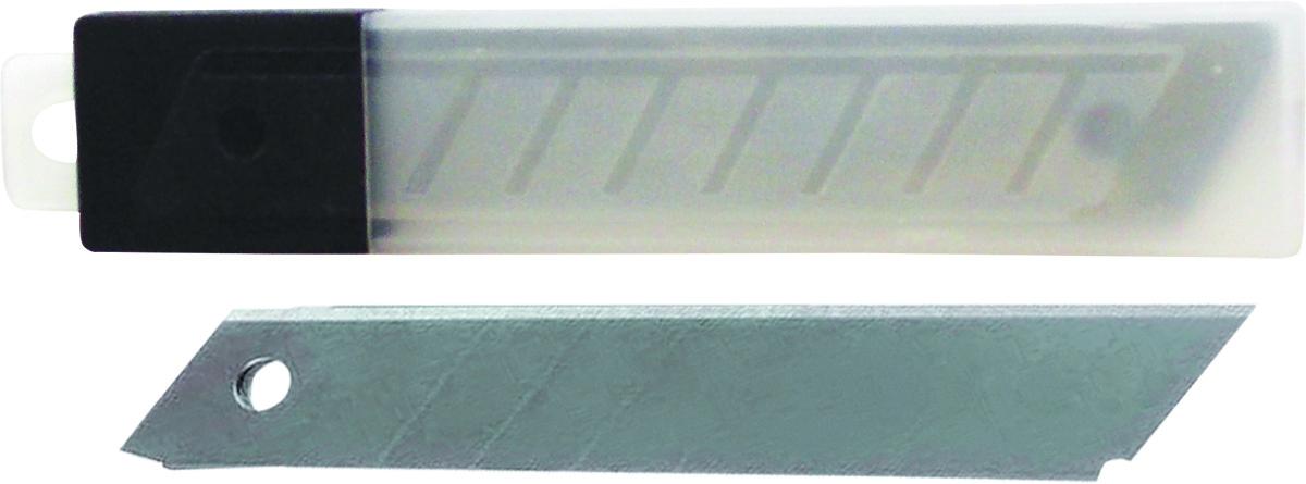 OfficeSpace Лезвия для канцелярских ножей 18 мм 10 штBLCUT18_1372/ 178796В наборе 10 лезвий для канцелярского ножа OfficeSpace в пластиковой коробке. Ширина лезвия 18 мм.