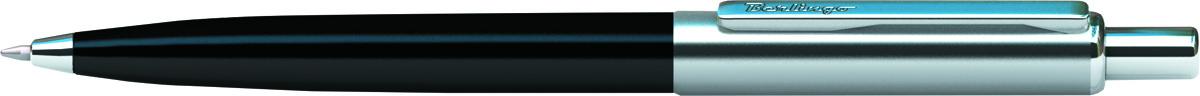 Berlingo Ручка шариковая Silver Arrow цвет корпуса черный серебристыйCPs_12201Шариковая ручка Berlingo Silver Arrow с синими чернилами. Имеет кнопочный механизм подачи стержня. Корпус ручки сделан из меди. Сама ручка выполнена в синем и хромированном цветах. Толщина линии - 0.7 мм. Ручка продается в пластиковом футляре.