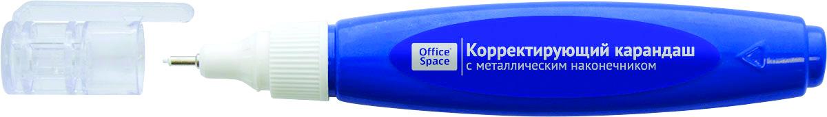 OfficeSpace Ручка-корректор 5 мл CPM07_1878CPM07_1878Ручка-корректор OfficeSpace с металлическим наконечником гарантирует точное нанесение.Система подачи жидкости через пластиковый наконечник не требует постоянного нажатия на корпус. Точное нанесение. Перед применением необходимо встряхнуть. А после использования плотно закрыть колпачок.