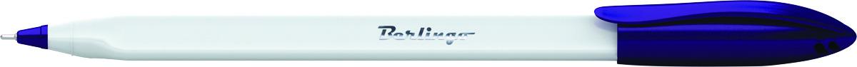 Berlingo Ручка шариковая Triangle Snow цвет синийCBp_70852Одноразовая шариковая ручка с колпачком и пластиковым клипом. Специальный пишущий узел и чернила пониженной вязкости обеспечивают супермягкое письмо. Удобный корпус трёхгранной формы. Вентилируемый колпачок. Рифление в зоне захвата препятствует скольжению пальцев при письме.