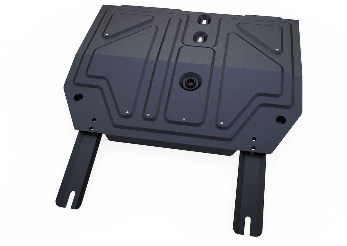 Защита картера и КПП Автоброня Chery Tiggo FL 2013-, сталь 2 мм111.00916.1Защита картера и КПП Автоброня Chery Tiggo FL, V - 1,6 2013-, сталь 2 мм, комплект крепежа, 111.00916.1Стальные защиты Автоброня надежно защищают ваш автомобиль от повреждений при наезде на бордюры, выступающие канализационные люки, кромки поврежденного асфальта или при ремонте дорог, не говоря уже о загородных дорогах.- Имеют оптимальное соотношение цена-качество.- Спроектированы с учетом особенностей автомобиля, что делает установку удобной.- Защита устанавливается в штатные места кузова автомобиля.- Является надежной защитой для важных элементов на протяжении долгих лет.- Глубокий штамп дополнительно усиливает конструкцию защиты.- Подштамповка в местах крепления защищает крепеж от срезания.- Технологические отверстия там, где они необходимы для смены масла и слива воды, оборудованные заглушками, закрепленными на защите.Толщина стали 2 мм.В комплекте крепеж и инструкция по установке.