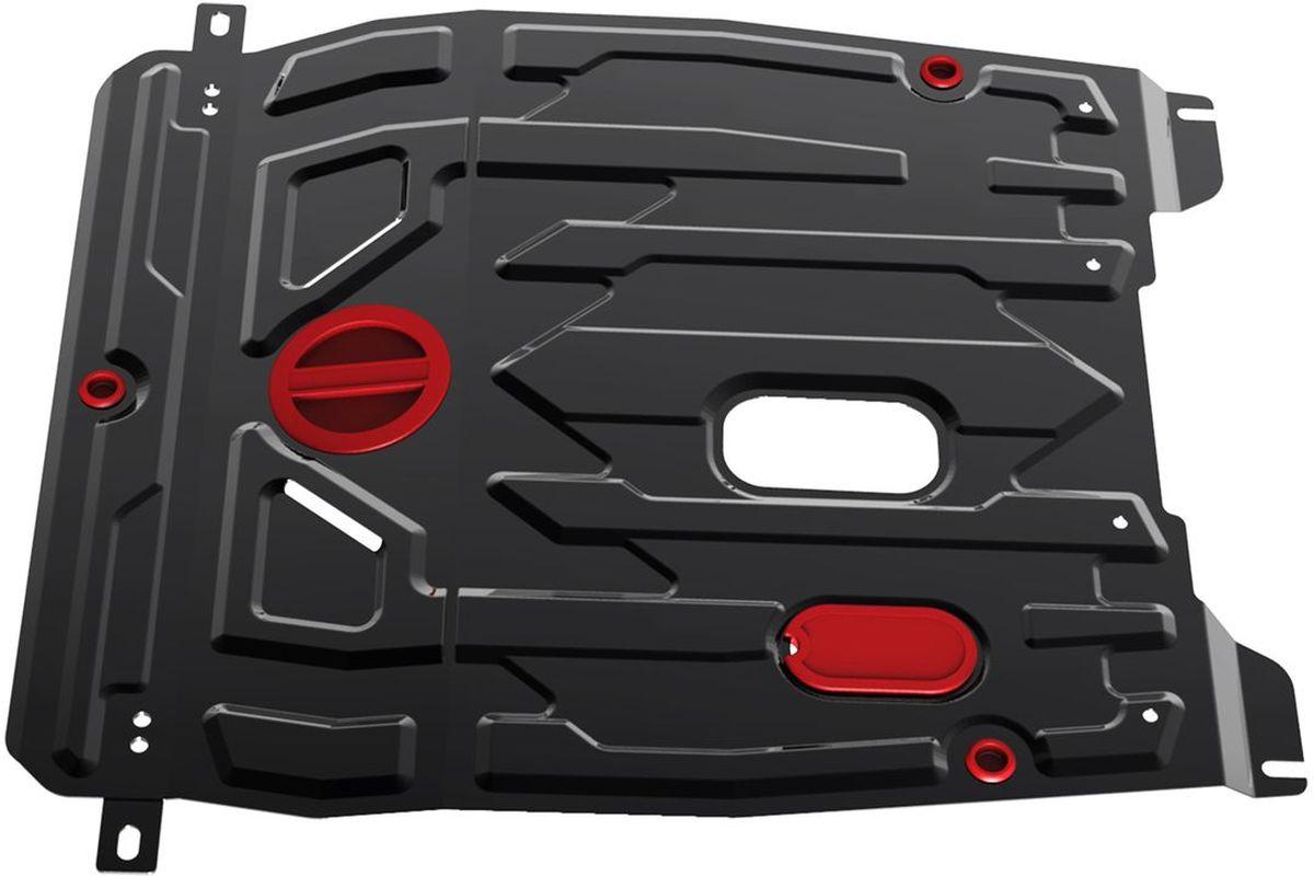 Защита картера и КПП Автоброня Daewoo Gentra 2013-2016/Ravon Gentra 2016-, сталь 2 мм111.01312.1Защита картера и КПП Автоброня для Daewoo Gentra, V - 1,5 МКП 2013-2016/Ravon Gentra, V - 1,5 МКП 2016-, сталь 2 мм, комплект крепежа, 111.01312.1Стальные защиты Автоброня надежно защищают ваш автомобиль от повреждений при наезде на бордюры, выступающие канализационные люки, кромки поврежденного асфальта или при ремонте дорог, не говоря уже о загородных дорогах.- Имеют оптимальное соотношение цена-качество.- Спроектированы с учетом особенностей автомобиля, что делает установку удобной.- Защита устанавливается в штатные места кузова автомобиля.- Является надежной защитой для важных элементов на протяжении долгих лет.- Глубокий штамп дополнительно усиливает конструкцию защиты.- Подштамповка в местах крепления защищает крепеж от срезания.- Технологические отверстия там, где они необходимы для смены масла и слива воды, оборудованные заглушками, закрепленными на защите.Толщина стали 2 мм.В комплекте крепеж и инструкция по установке.