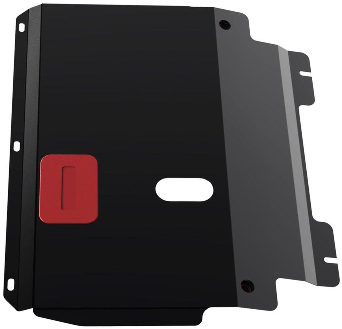 Защита картера и КПП Автоброня Ford Fusion 2002-/Ford Fiesta 2002-2008, сталь 2 мм111.01806.3Защита картера и КПП Автоброня для Ford Fusion, V - 1,4; 1,6 2002-/Ford Fiesta, V -1,3; 1,4; 1,6 2002-2008, сталь 2 мм, комплект крепежа, 111.01806.3Стальные защиты Автоброня надежно защищают ваш автомобиль от повреждений при наезде на бордюры, выступающие канализационные люки, кромки поврежденного асфальта или при ремонте дорог, не говоря уже о загородных дорогах.- Имеют оптимальное соотношение цена-качество.- Спроектированы с учетом особенностей автомобиля, что делает установку удобной.- Защита устанавливается в штатные места кузова автомобиля.- Является надежной защитой для важных элементов на протяжении долгих лет.- Глубокий штамп дополнительно усиливает конструкцию защиты.- Подштамповка в местах крепления защищает крепеж от срезания.- Технологические отверстия там, где они необходимы для смены масла и слива воды, оборудованные заглушками, закрепленными на защите.Толщина стали 2 мм.В комплекте крепеж и инструкция по установке.