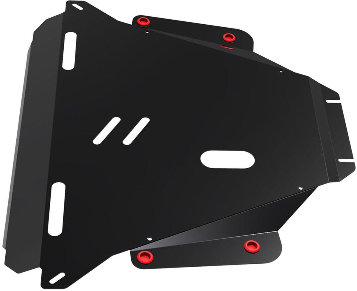 Защита картера и КПП Автоброня Honda CR-V 2007-2012, сталь 2 мм111.02104.2Защита картера и КПП Автоброня Honda CR-V III, V - 2,0; 2,4 2007-2012, сталь 2 мм, комплект крепежа, 111.02104.2Стальные защиты Автоброня надежно защищают ваш автомобиль от повреждений при наезде на бордюры, выступающие канализационные люки, кромки поврежденного асфальта или при ремонте дорог, не говоря уже о загородных дорогах.- Имеют оптимальное соотношение цена-качество.- Спроектированы с учетом особенностей автомобиля, что делает установку удобной.- Защита устанавливается в штатные места кузова автомобиля.- Является надежной защитой для важных элементов на протяжении долгих лет.- Глубокий штамп дополнительно усиливает конструкцию защиты.- Подштамповка в местах крепления защищает крепеж от срезания.- Технологические отверстия там, где они необходимы для смены масла и слива воды, оборудованные заглушками, закрепленными на защите.Толщина стали 2 мм.В комплекте крепеж и инструкция по установке.