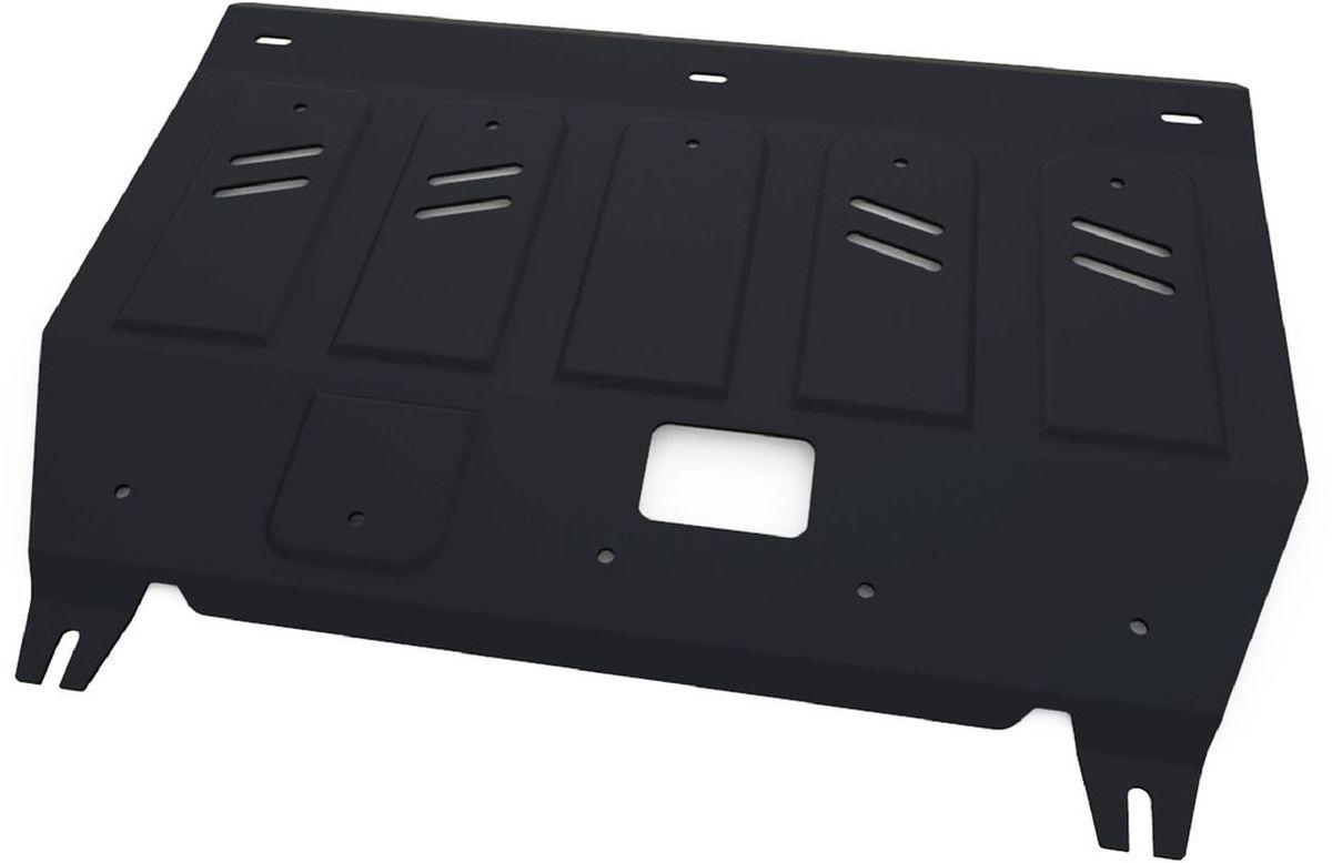 Защита картера и КПП Автоброня Hyundai Avante 2011-2014/Hyundai Elantra 2011-2014 2014-2016, сталь 2 мм111.02351.1Защита картера и КПП Автоброня для Hyundai Avante, V - 1,6 2011-2014/Hyundai Elantra, V - 1,6; 1,8 2011-2014 2014-2016, сталь 2 мм, комплект крепежа, 111.02351.1Стальные защиты Автоброня надежно защищают ваш автомобиль от повреждений при наезде на бордюры, выступающие канализационные люки, кромки поврежденного асфальта или при ремонте дорог, не говоря уже о загородных дорогах.- Имеют оптимальное соотношение цена-качество.- Спроектированы с учетом особенностей автомобиля, что делает установку удобной.- Защита устанавливается в штатные места кузова автомобиля.- Является надежной защитой для важных элементов на протяжении долгих лет.- Глубокий штамп дополнительно усиливает конструкцию защиты.- Подштамповка в местах крепления защищает крепеж от срезания.- Технологические отверстия там, где они необходимы для смены масла и слива воды, оборудованные заглушками, закрепленными на защите.Толщина стали 2 мм.В комплекте крепеж и инструкция по установке.