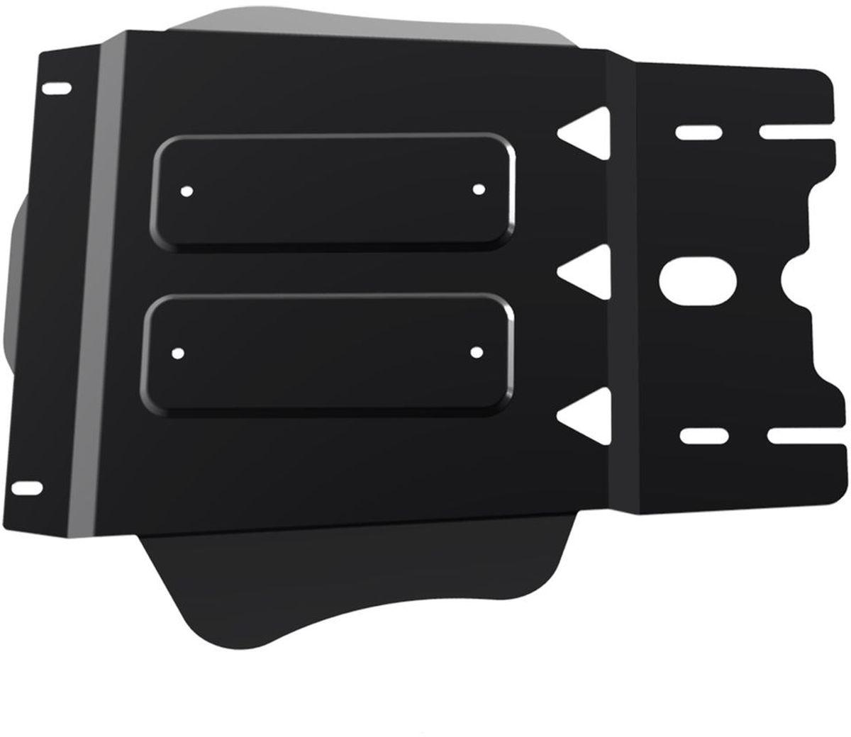 Защита КПП Автоброня Mitsubishi L200 2006-2015/Mitsubishi Pajero Sport 2008-2016, сталь 2 мм111.04024.1Защита КПП Автоброня для Mitsubishi L200 2006-2015/Mitsubishi Pajero Sport 2008-2016, сталь 2 мм, комплект крепежа, 111.04024.1Дополнительно можно приобрести другие защитные элементы из комплекта: защита радиатора - 111.04005.1, защита картера - 111.04006.1, защита РК - 111.04025.1Стальные защиты Автоброня надежно защищают ваш автомобиль от повреждений при наезде на бордюры, выступающие канализационные люки, кромки поврежденного асфальта или при ремонте дорог, не говоря уже о загородных дорогах.- Имеют оптимальное соотношение цена-качество.- Спроектированы с учетом особенностей автомобиля, что делает установку удобной.- Защита устанавливается в штатные места кузова автомобиля.- Является надежной защитой для важных элементов на протяжении долгих лет.- Глубокий штамп дополнительно усиливает конструкцию защиты.- Подштамповка в местах крепления защищает крепеж от срезания.- Технологические отверстия там, где они необходимы для смены масла и слива воды, оборудованные заглушками, закрепленными на защите.Толщина стали 2 мм.В комплекте крепеж и инструкция по установке.