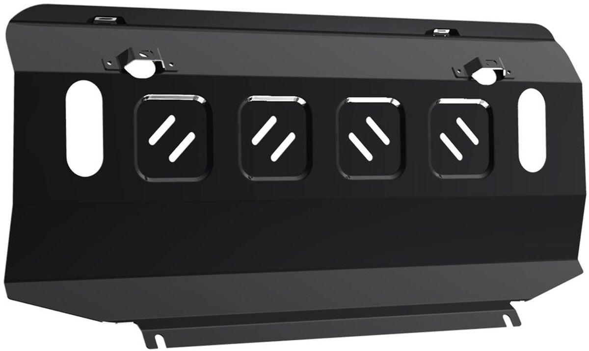 Защита радиатора Автоброня Isuzu D-Max 2012-, сталь 2 мм111.09101.1Защита радиатора Автоброня Isuzu D-Max, V-2,5TD 2012-, сталь 2 мм, комплект крепежа, 111.09101.1Стальные защиты Автоброня надежно защищают ваш автомобиль от повреждений при наезде на бордюры, выступающие канализационные люки, кромки поврежденного асфальта или при ремонте дорог, не говоря уже о загородных дорогах.- Имеют оптимальное соотношение цена-качество.- Спроектированы с учетом особенностей автомобиля, что делает установку удобной.- Защита устанавливается в штатные места кузова автомобиля.- Является надежной защитой для важных элементов на протяжении долгих лет.- Глубокий штамп дополнительно усиливает конструкцию защиты.- Подштамповка в местах крепления защищает крепеж от срезания.- Технологические отверстия там, где они необходимы для смены масла и слива воды, оборудованные заглушками, закрепленными на защите.Толщина стали 2 мм.В комплекте крепеж и инструкция по установке.Уважаемые клиенты!Обращаем ваше внимание на тот факт, что защита имеет форму, соответствующую модели данного автомобиля. Наличие глубокого штампа и лючков для смены фильтров/масла предусмотрено не на всех защитах. Фото служит для визуального восприятия товара.
