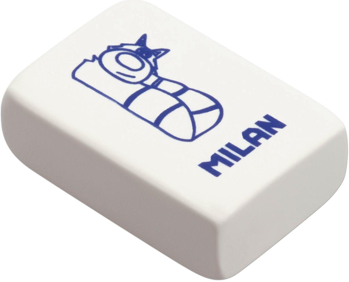 Milan Ластик 4060 цвет белый рисунок в ассортиментеCNM4060Ластик Milan изготовлен из натурального каучука с добавлением абразивных веществ. Подходит для работы с твердыми грифелями.Имеет мягкую форму. Ластик обеспечивает высокое качество коррекции и не повреждает поверхность бумаги.Уважаемые клиенты! Обращаем ваше внимание на цветовой ассортимент товара. Поставка осуществляется в зависимости от наличия на складе.