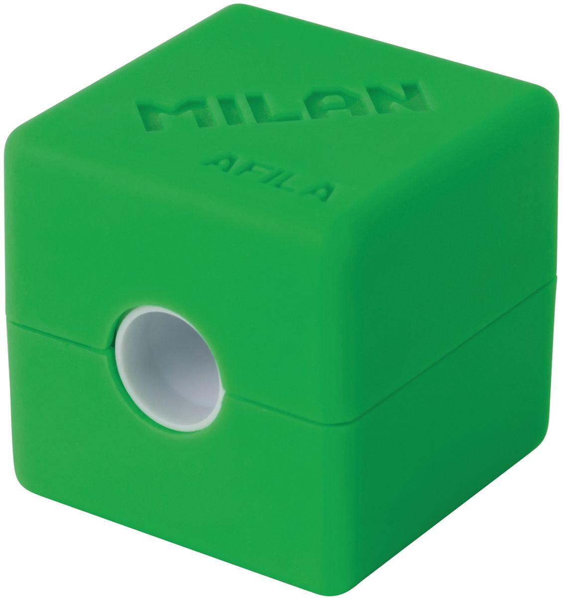 Milan Точилка Cubic с контейнером20154216Точилка представляет собой кубик с открывающейся и закрывающейся крышечкой и отверстием для карандашей. Подходит для заточки чернографитных и цветных карандашей. Цвета: черный, серый, желтый и красный. Особая конструкция точилки предотвращает выпадение лезвия и, таким образом, делает работу комфортной и безопасной. 1 отверстие.