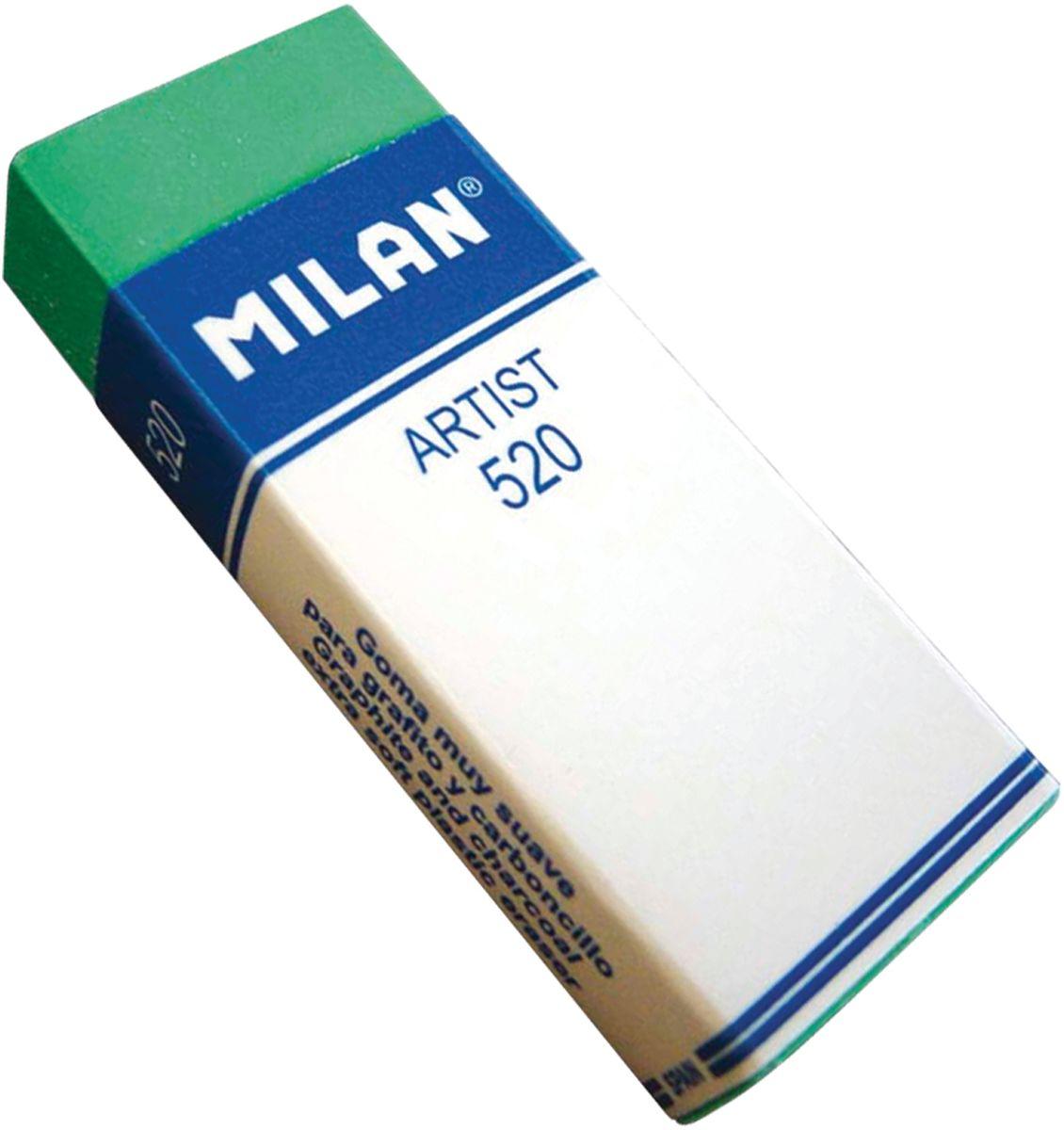 Milan Ластик Artist 520 прямоугольныйCPM520Ластик Milan Artist 520 - это синтетический ластик для дизайнеров и художников. Бумажный держатель. Современные материалы обеспечивают прекрасное стирание и незаменимы для художественно-графических работ, дизайнерских проектов, чертежей, эскизов.