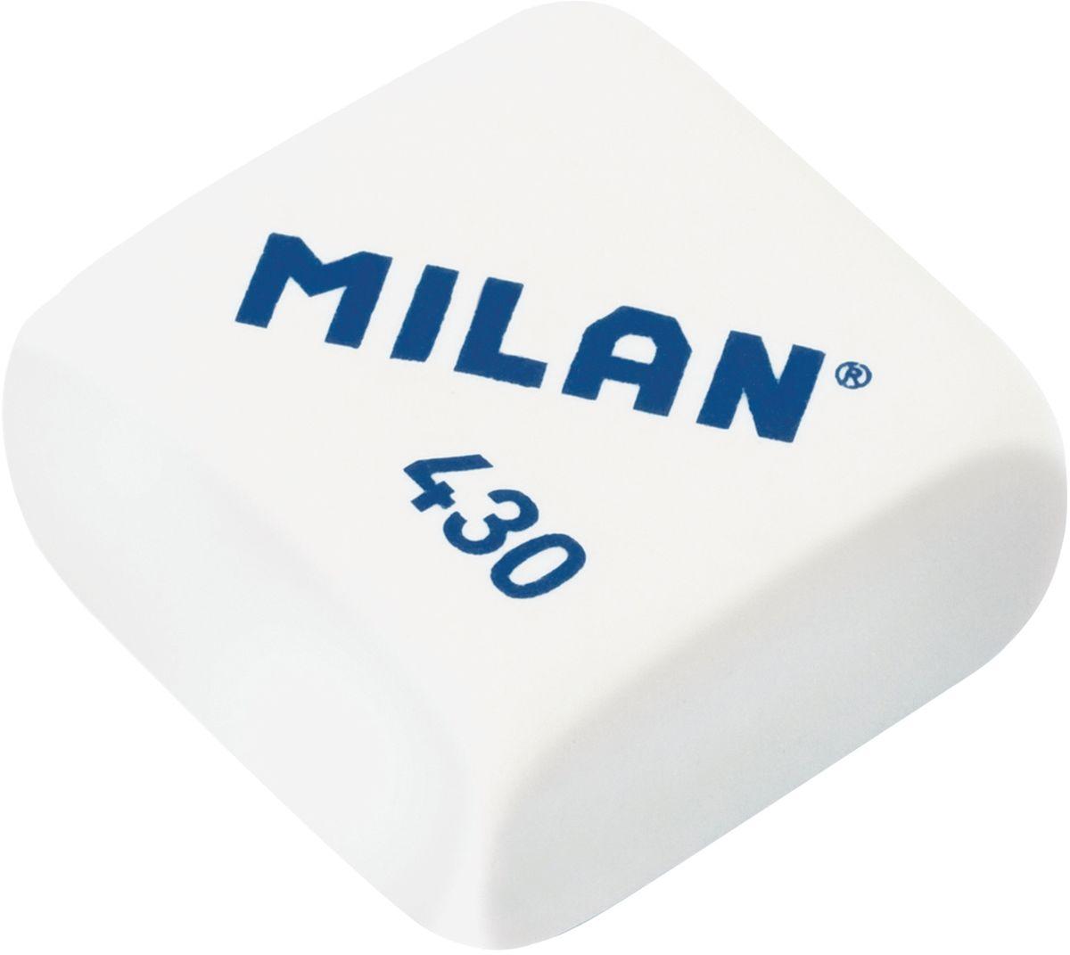 Milan Ластик 430 цвет белыйCMM430Качественный мягкий ластик Milan предназначен для работы с мягкими карандашами. Имеет классическую квадратную форму.