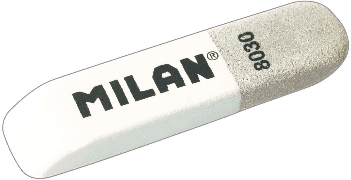 Milan Ластик 8030 скошенный комбинированныйCCM8030BGЛастик Milan 8030 - это классический ластик с добавлением двух видов абразивов. Позволяет удалять с бумаги чернила и стирать цветные карандаши.