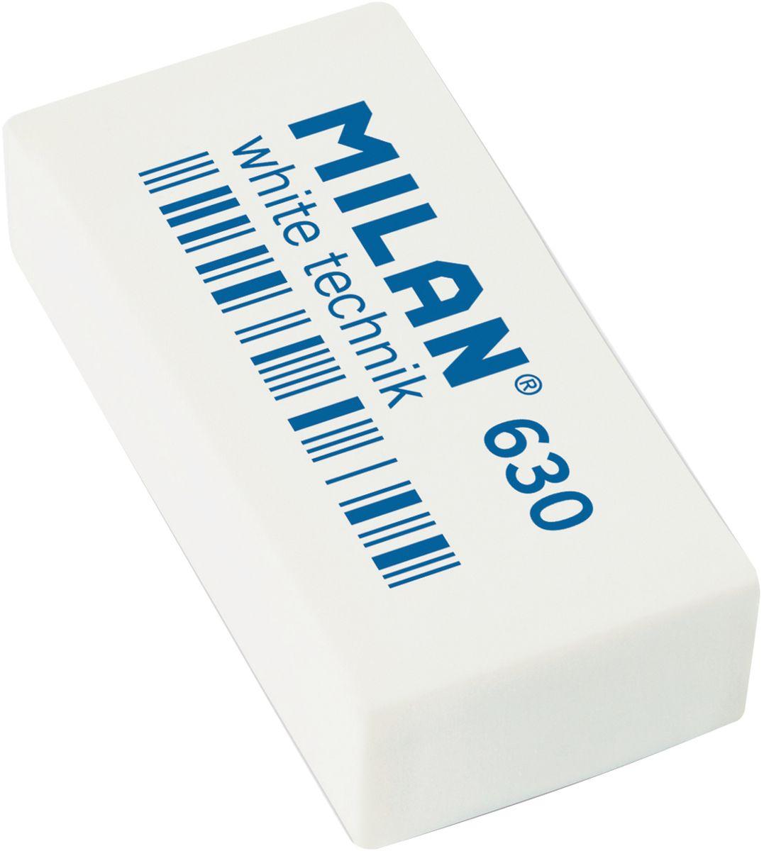 Milan Ластик White Technic 630 прямоугольныйCPM630Ластик Milan White Technic 630 - это прекрасный синтетический ластик для цветных и чернографитных карандашей.