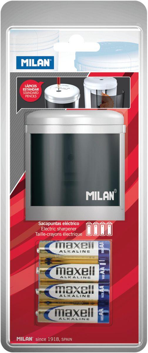 Milan Точилка электрическая Power SharpBWM10149Электрическая точилка Milan Power Sharp отличается лаконичным стилем и сделана по новейшим технологиям с учетом последних тенденций в области дизайна в экспериментальной лаборатории MILAN. Конструкция лезвия точилки абсолютно безопасна, в создании точилок использованы только качественные материалы.Модель Powersharp идеальна для школы и офиса.Модель работает на батарейке 1,5 V.Страна-производитель: Испания.