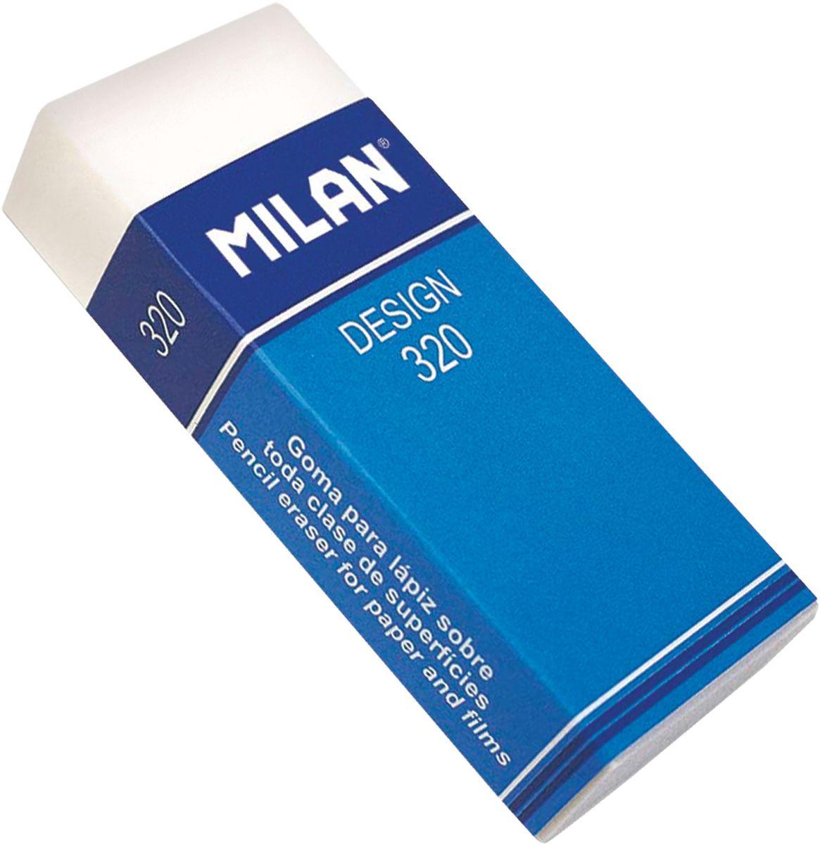 Milan Ластик Design 320 прямоугольныйCPM320Ластик Milan Design 320 - это синтетический ластик широкого спектра применения в области дизайна и графики, конструкторских работ, архитектурных проектов. Картонный держатель, высокие функциональные свойства.