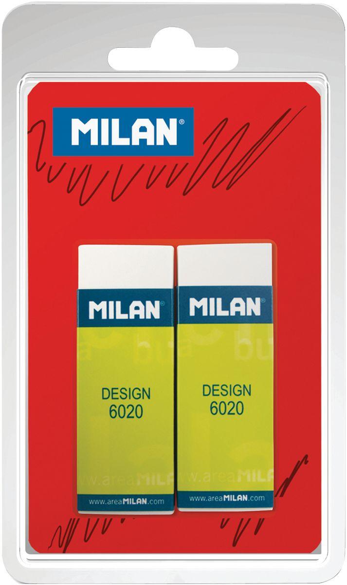 Milan Набор ластиков Design 6020 2 шт factis набор мягких ластиков цвет белый 2 шт
