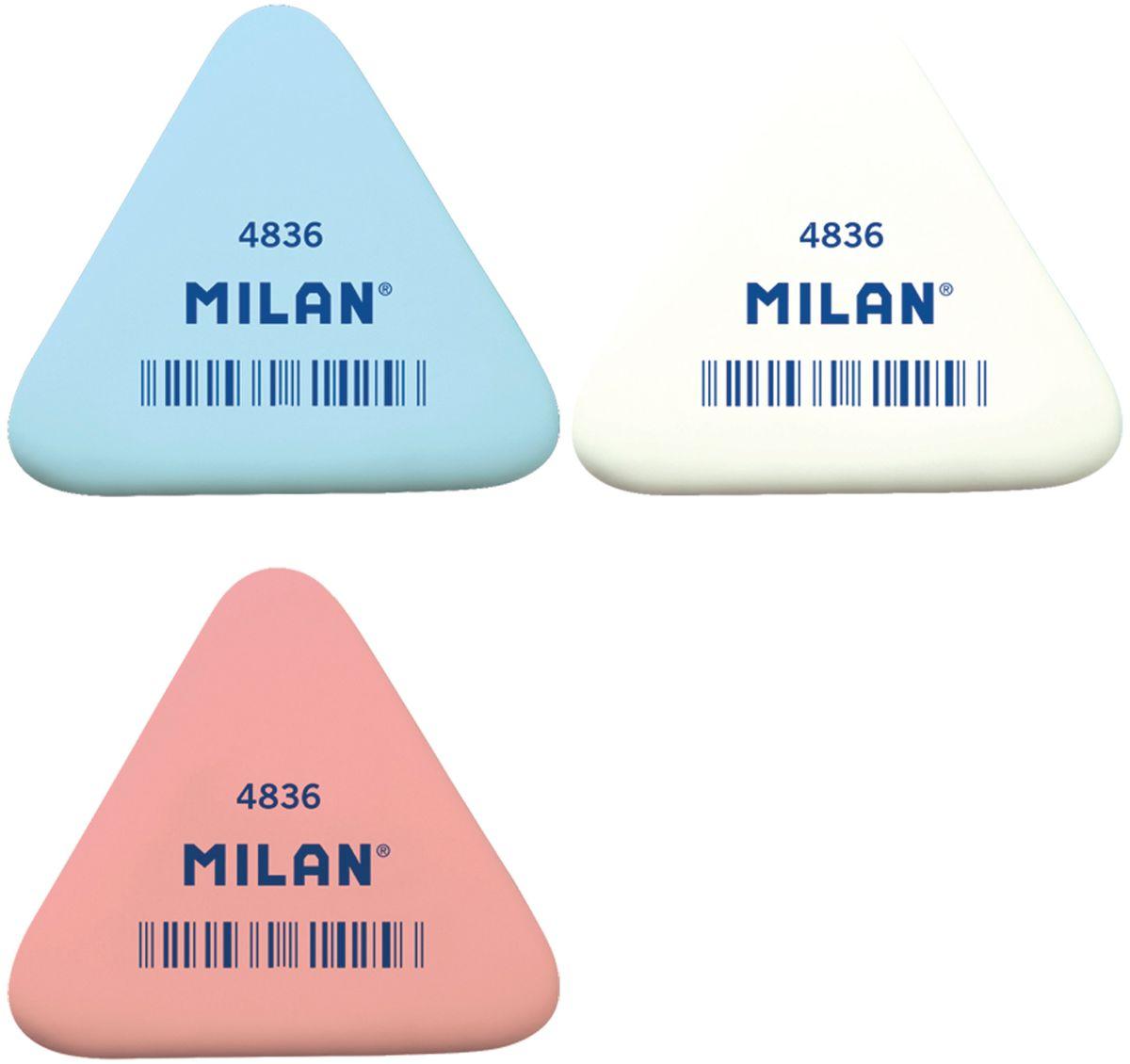 Milan Ластик 4836 треугольный milan ластик 424 а