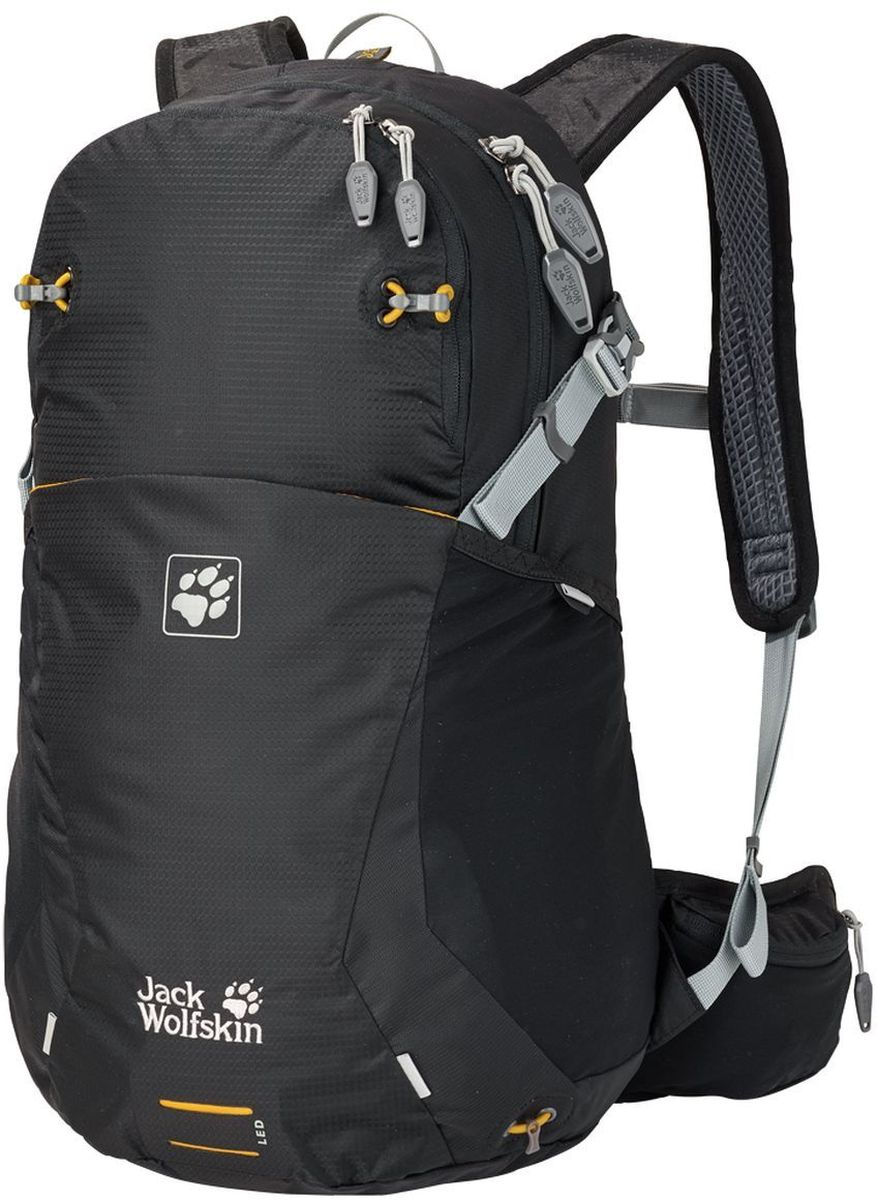 Рюкзак Jack Wolfskin Moab Jam 24, цвет: черный. 2002303-6000 ботинки jack wolfskin ботинки mtn attack 2 texapore mid k