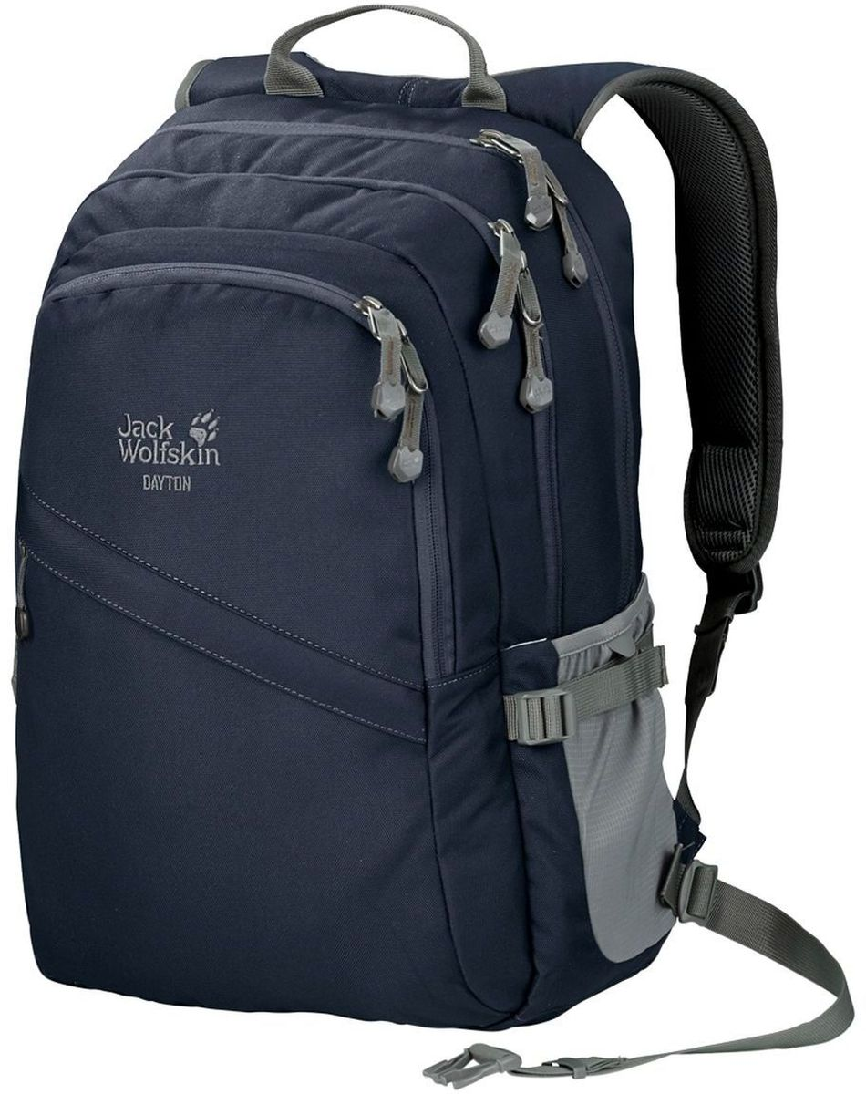 Рюкзак Jack Wolfskin Dayton, цвет: темно-синий. 2002481-1010 рюкзаки jack wolfskin рюкзак stowaway 24 pack