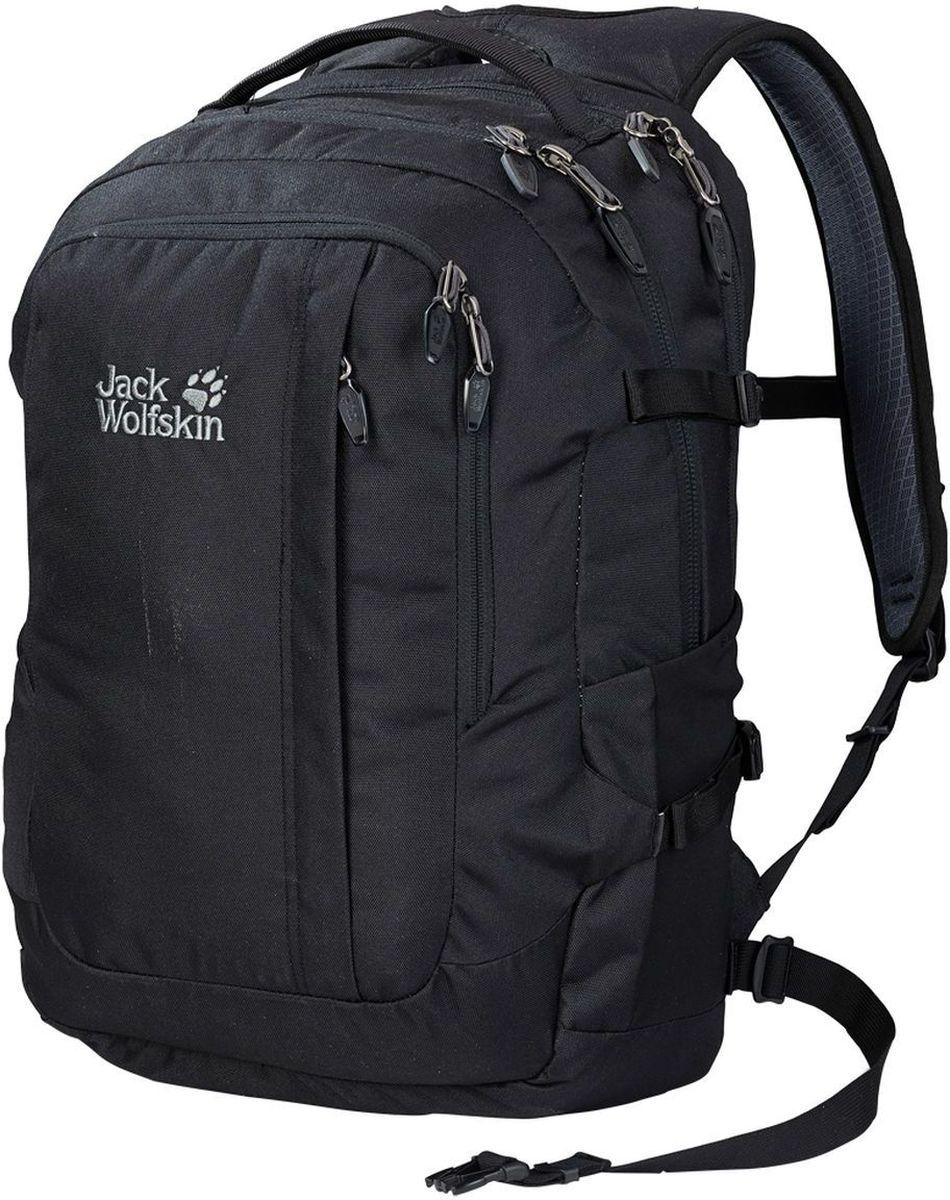 Рюкзак Jack Wolfskin Jack.Pot De Luxe, цвет: черный. 2005231-6000 снуд jack wolfskin jack wolfskin ja021guwha98