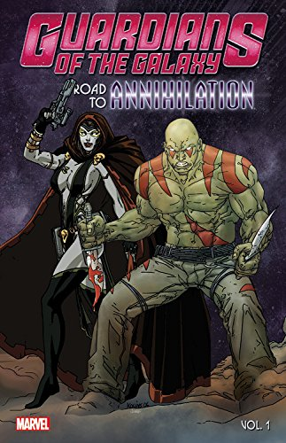 Guardians of the Galaxy: Road to Annihilation Vol. 1 the ninth life of louis drax