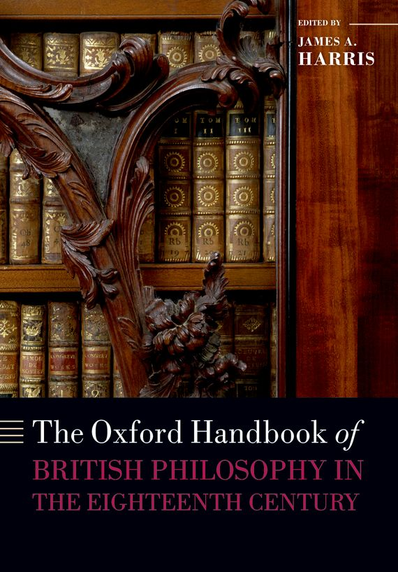 The Oxford Handbook of British Philosophy in the Eighteenth Century the metaphysics of logic
