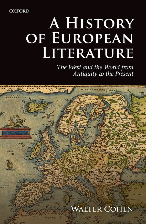 A History of European Literature a new literary history of america
