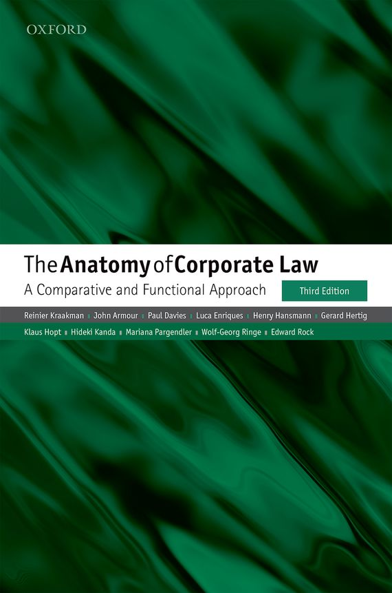 The Anatomy of Corporate Law the anatomy of peace