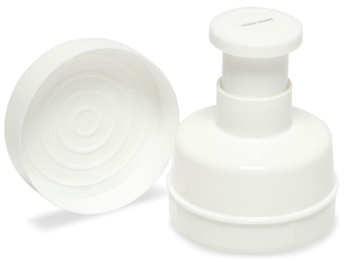 Формочка для гамбургеров Dosh l Home VEGA100707Форма Dosh l Home VEGA прекрасно подходит для легкого приготовления домашних мясных бургеров. Наполните формочку приправленной мясной смесью, разровняйте и нажатием ручки выньте приготовленный бургер. Изготовлено из прочного пластика, подходит для мытья в посудомоечной машине.