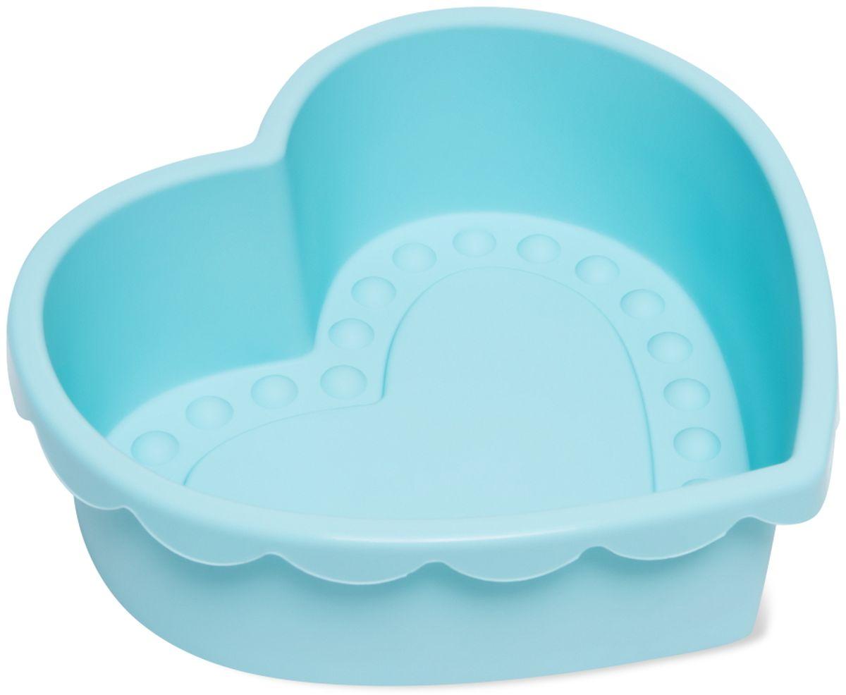 Форма для выпечки Dosh l Home PAVO, силиконовая, цвет: голубой, диаметр 24 см кисточка кулинарная dosh l home pavo цвет голубой