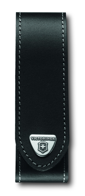 Чехол для ножей Victorinox RangerGrip, на ремень, на липучке, цвет: черный, 35 х 40 х 140 мм. 4.0505.L