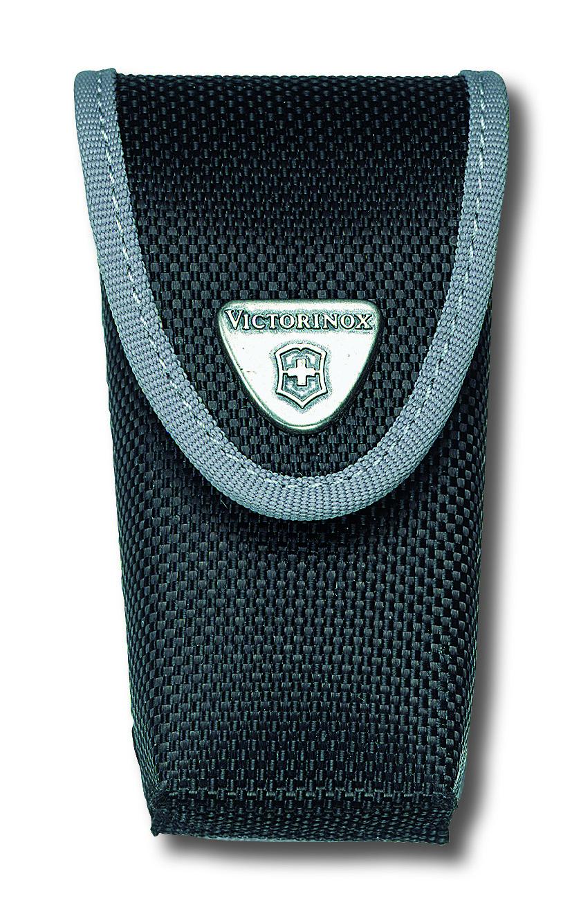 Чехол для ножей Victorinox, на ремень, цвет: черный, 10 см х 3,7 см