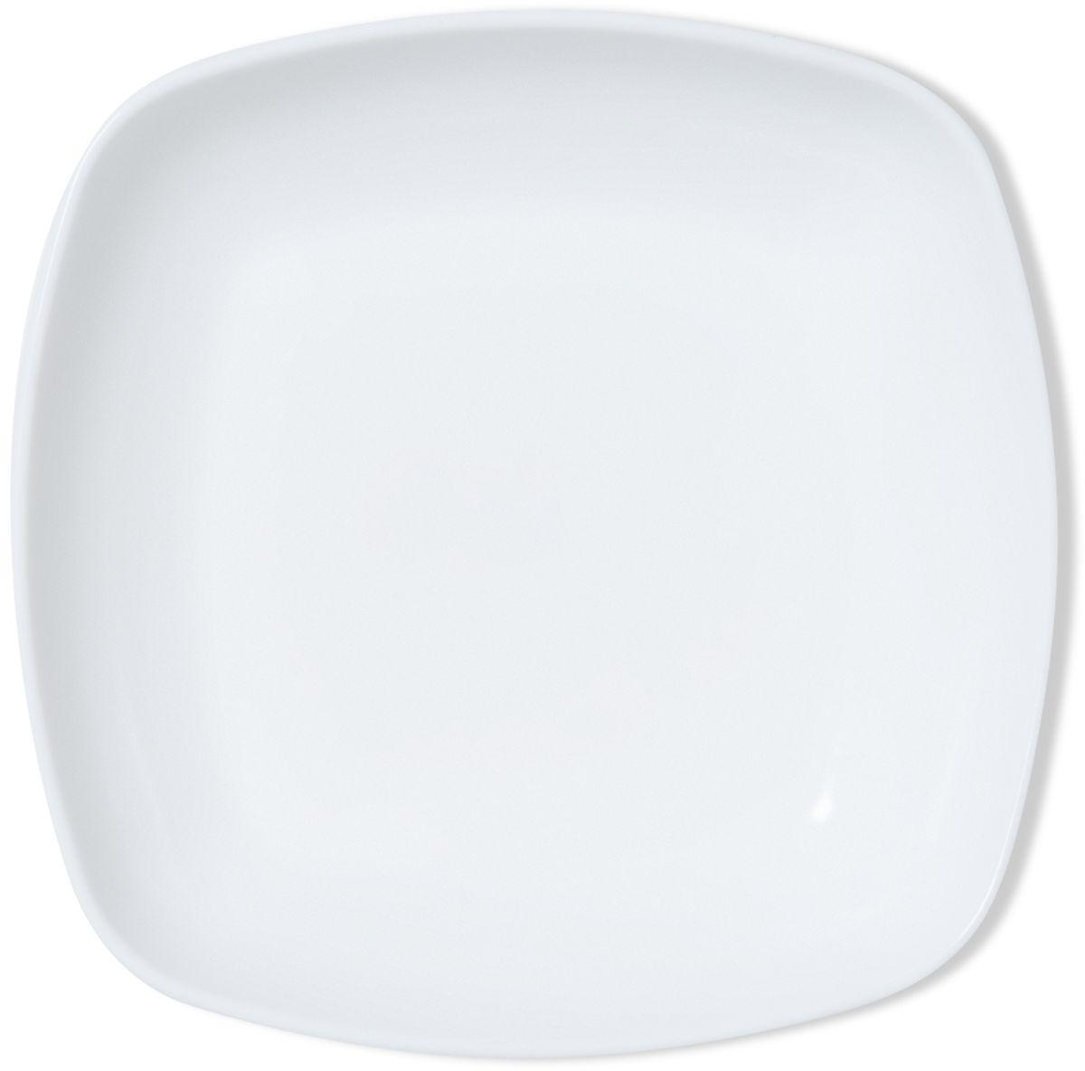 Тарелка глубокая Dosh l Home Adara, квадратная, 23 x 23 см400202Элегантные тарелки для стильной сервировки блюд и закусок. Изготовлены из высококачественного силикона белоснежного цвета. Силикон не впитывает запах и вкус продуктов, устойчив к царапинам. Подходит для микроволновой печи, холодильника. Можно мыть в посудомоечной машине. Мыть обычными моющими средствами, не использовать агрессивные вещества, металлические мочалки, острые предметы и т.д..