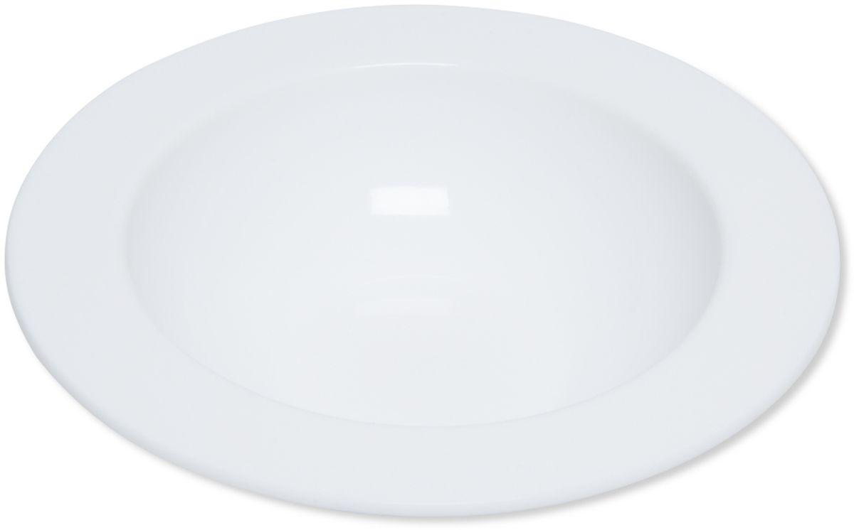 Тарелка глубокая Dosh l Home Adara, 23 см400206Элегантная тарелка Dosh l Home Adara для стильной сервировки блюд и закусок изготовлена из высококачественного силикона белоснежного цвета. Силикон не впитывает запах и вкус продуктов, устойчив к царапинам. Подходит для микроволновой печи, холодильника. Можно мыть в посудомоечной машине. Мыть обычными моющими средствами, не использовать агрессивные вещества, металлические мочалки, острые предметы.