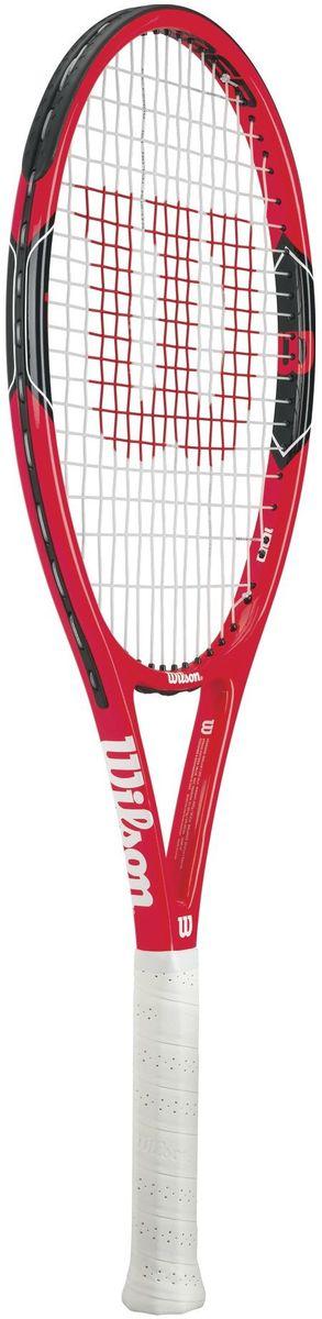 Ракетка теннисная Wilson Federer 100, ручка 1